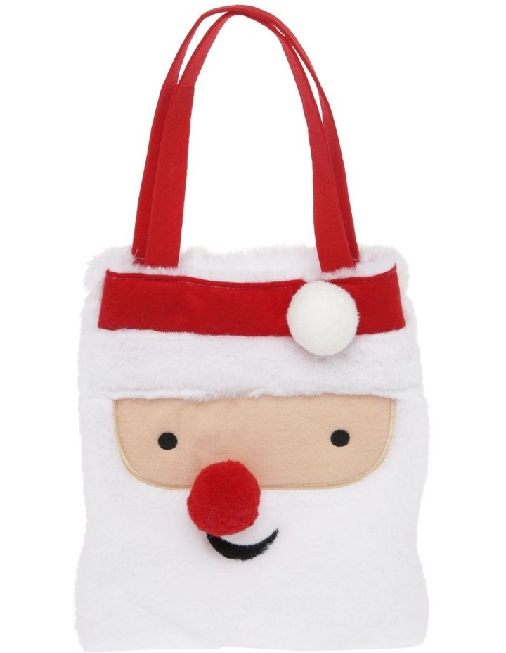 Merry & Bright Novelty Felt Santa Bag image 1