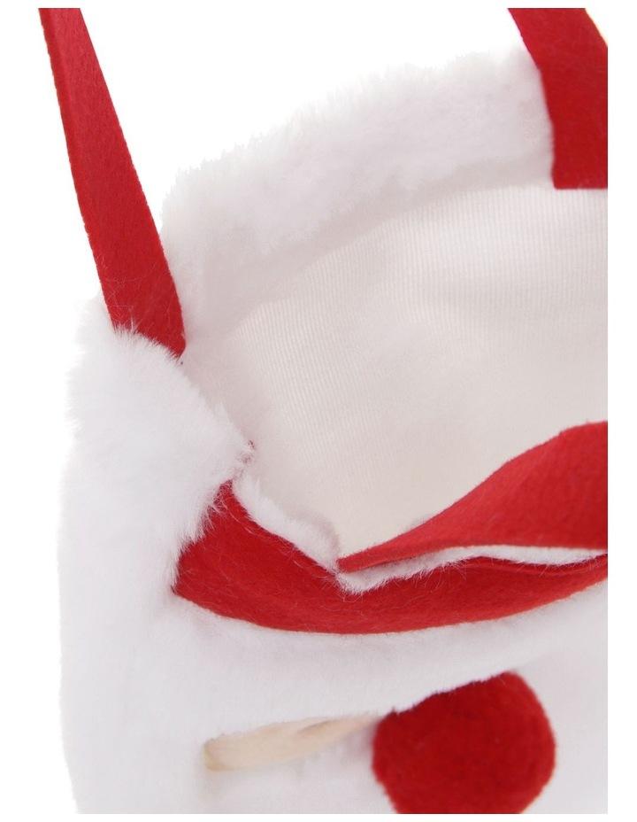 Merry & Bright Novelty Felt Santa Bag image 3