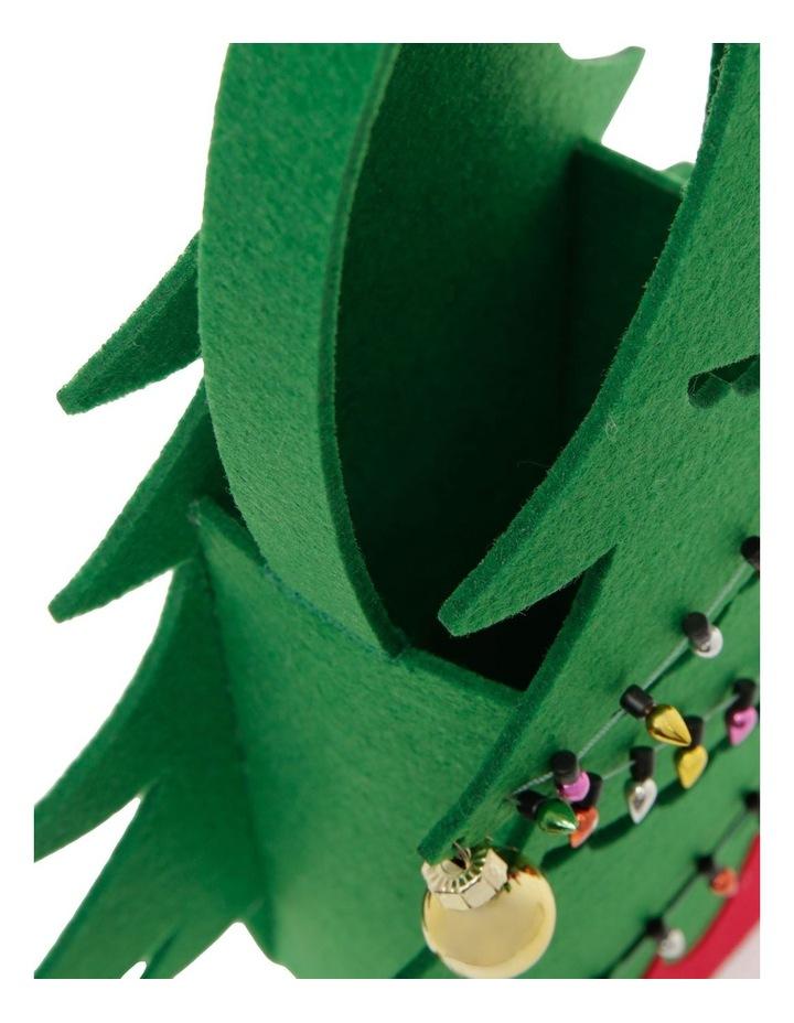 Merry & Bright Novelty Felt Tree Basket image 4