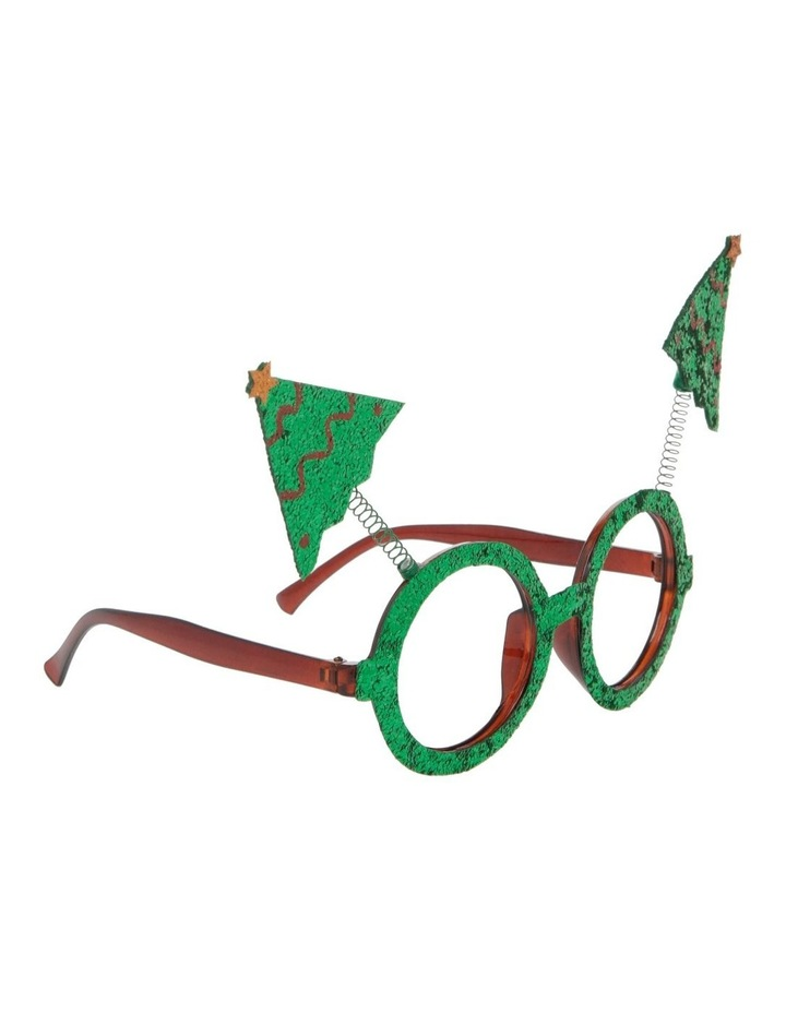 Merry & Bright Green Novelty Tree Eyeglasses image 2