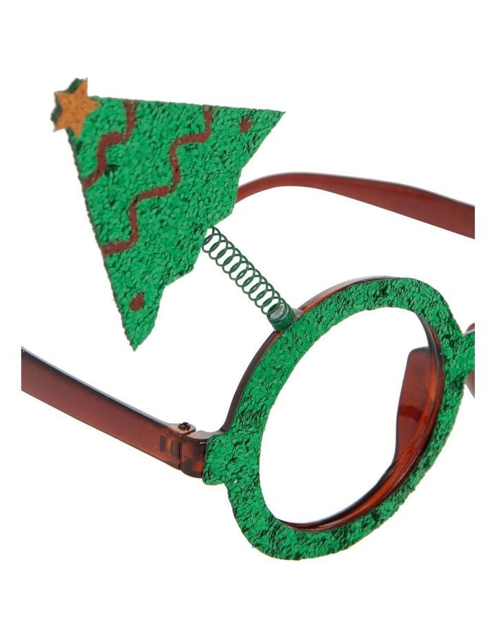 Merry & Bright Green Novelty Tree Eyeglasses image 3