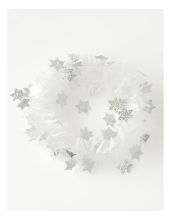 Four Ply Rainbow & Star Tinsel- Multi: 200 cm image 3