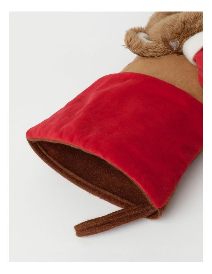 Heirloom Monty Bear Fel Stocking- Brown: 44 Cm image 3