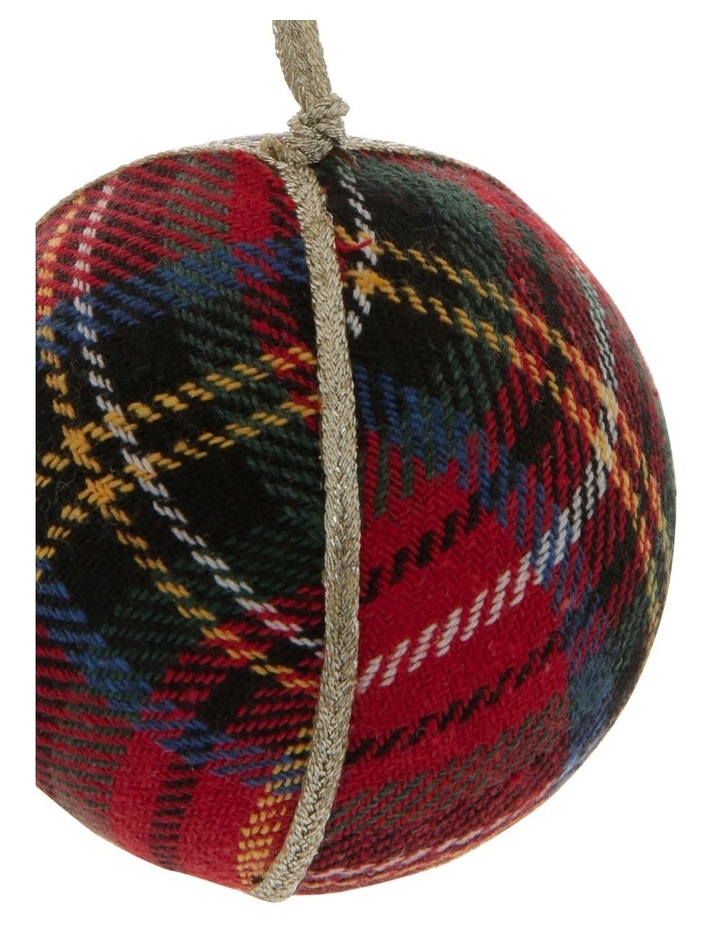 Heirloom Plaid Fabric Bauble image 2