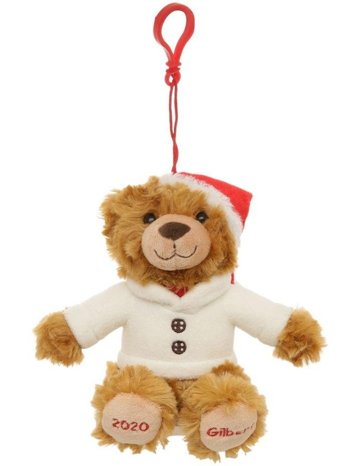 Gilbert 2020 Charity Plush Bear Hanging Decoration image 1
