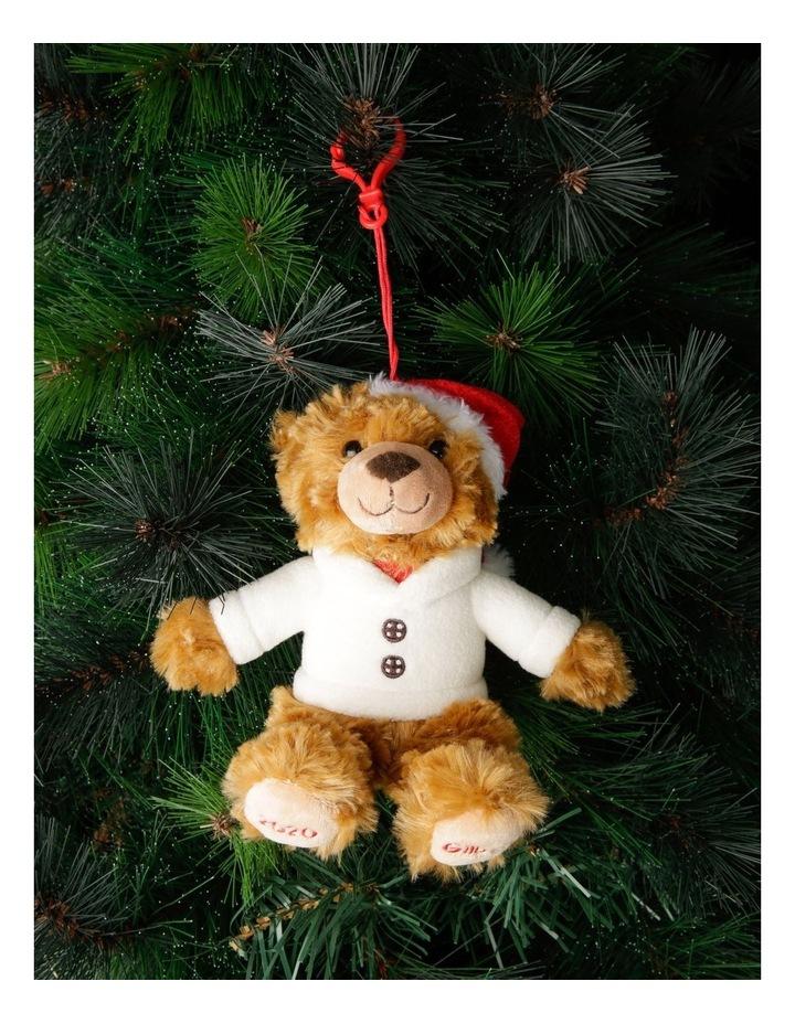 Gilbert 2020 Charity Plush Bear Hanging Decoration image 4