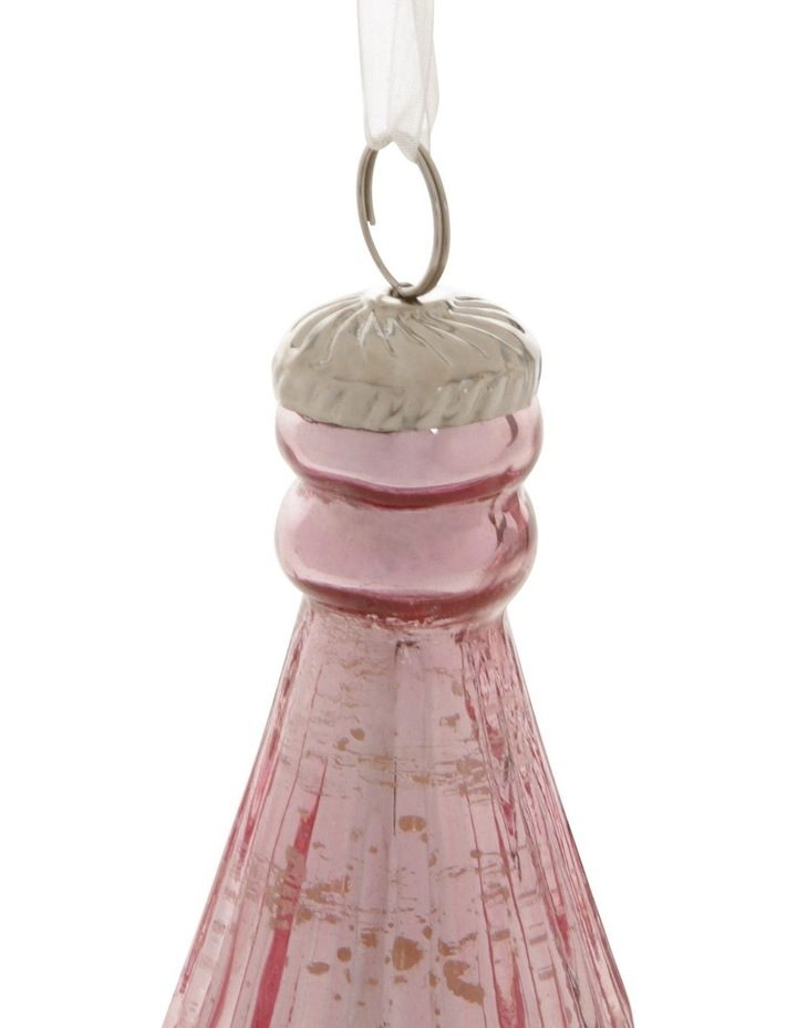 Luxe Mercurised Teardrop Pendant Ornament image 2