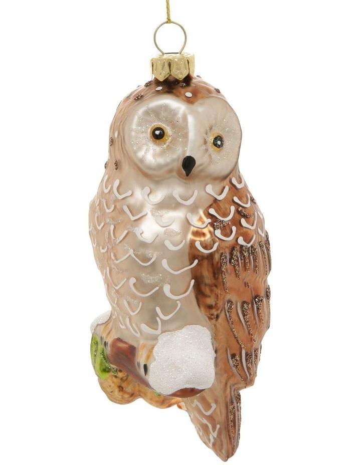 Heirloom Woodland Owl Hanging Ornament image 2