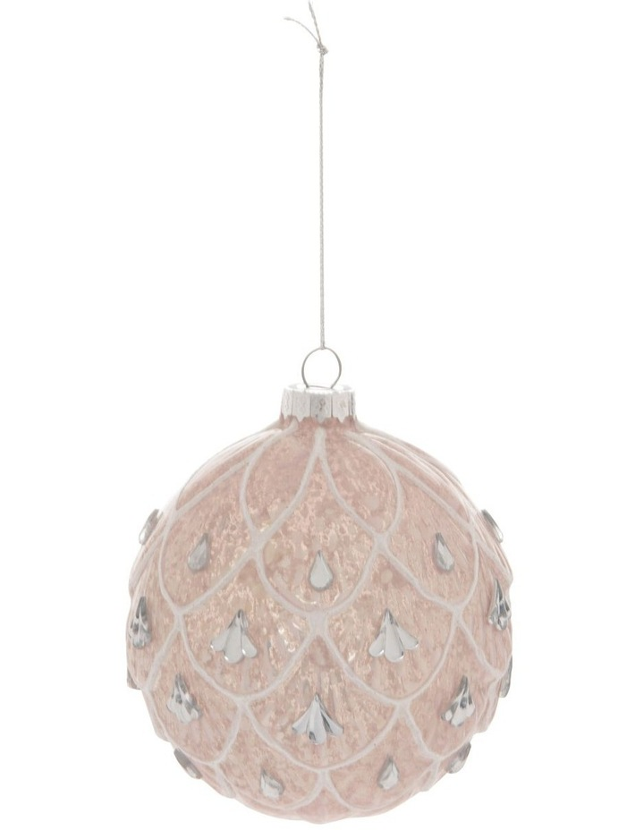 Luxe Art Deco Fan Bauble with Jewels image 1