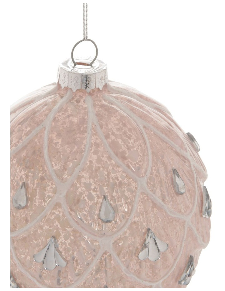Luxe Art Deco Fan Bauble with Jewels image 2