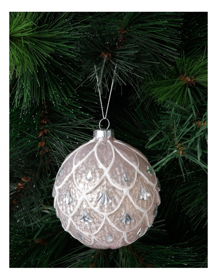 Luxe Art Deco Fan Bauble with Jewels image 3