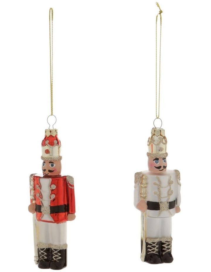 Heirloom Assorted Glass Nutcracker Hanging Ornament image 1