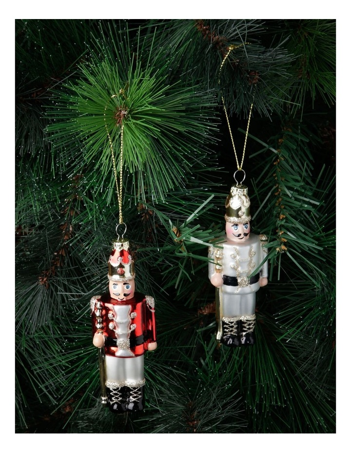 Heirloom Assorted Glass Nutcracker Hanging Ornament image 2