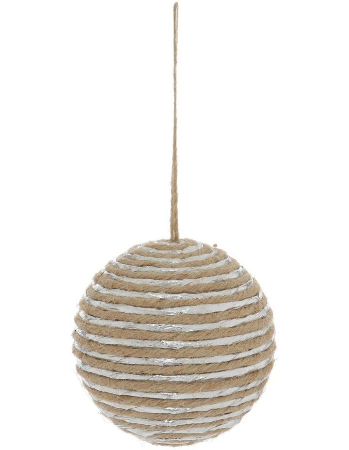 Eucalyptus Yarn-Wrapped Bauble image 1