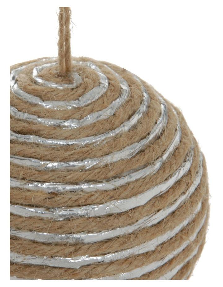 Eucalyptus Yarn-Wrapped Bauble image 3