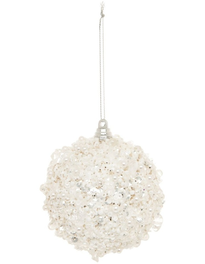 Luxe Sequin Crusted Bauble image 1
