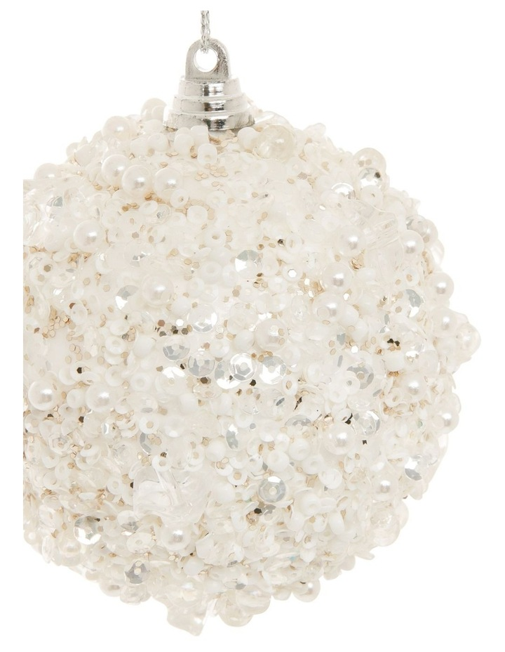 Luxe Sequin Crusted Bauble image 2