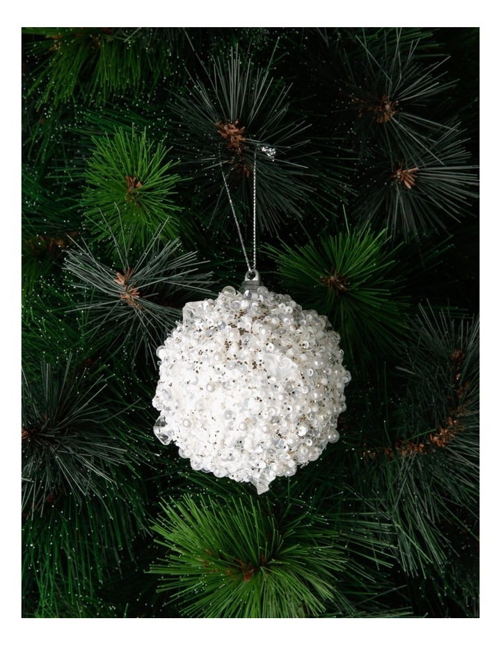 Luxe Sequin Crusted Bauble image 3
