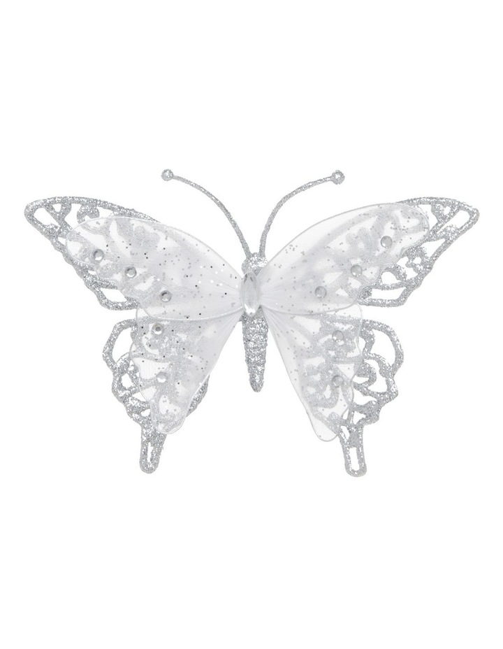 Luxe Glitter & Mesh Butterfly Clip image 1