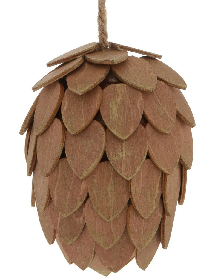 Eucalyptus Assorted Pinecone Hanging Ornaments image 2