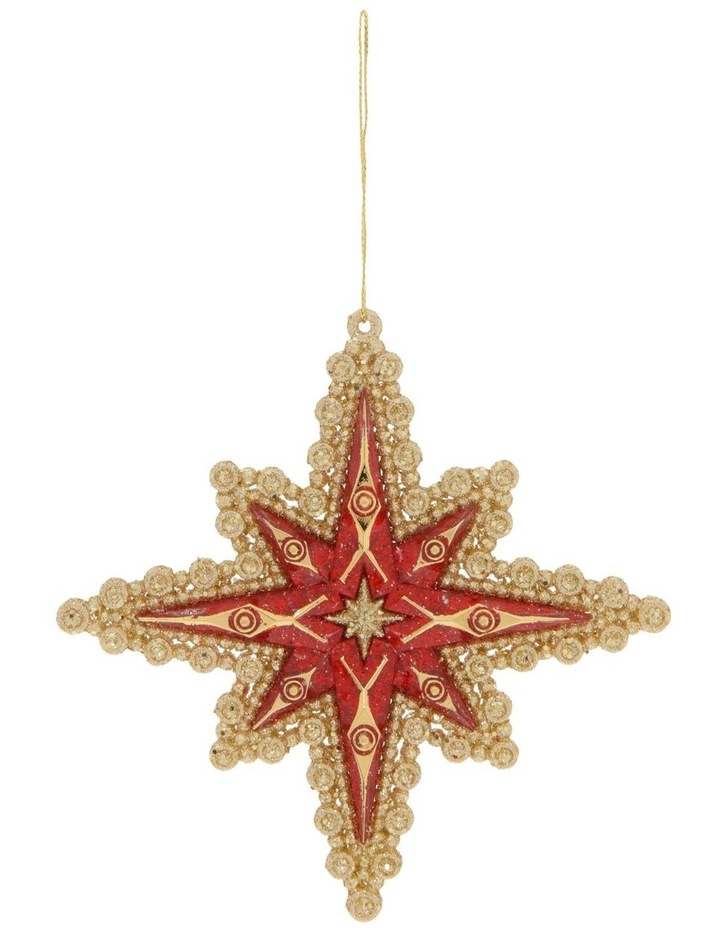 Heirloom Guiding Star Hanging Ornament image 1