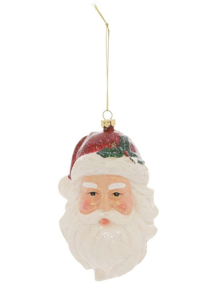 Heirloom Santa Head Hanging Ornament image 1