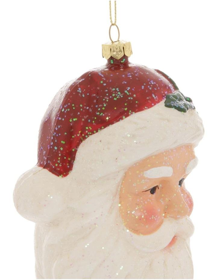 Heirloom Santa Head Hanging Ornament image 2