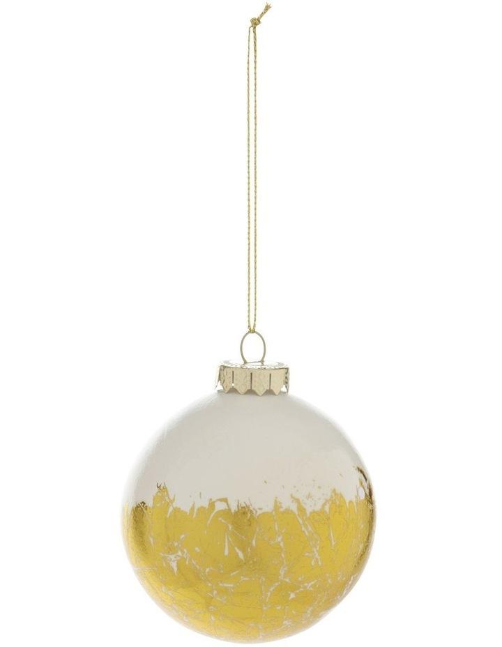 Heirloom Gold Foil Bauble image 1