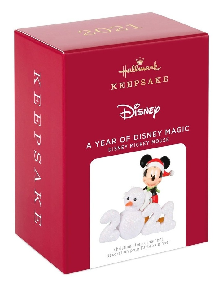 A Year Of Disney Magic- Disney Mickey Mouse Ornament image 5