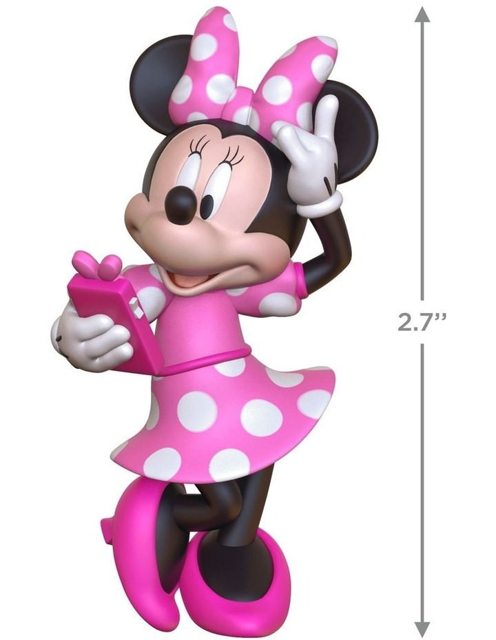 Phoning A Friend- Disney Minnie Mouse Ornament image 3