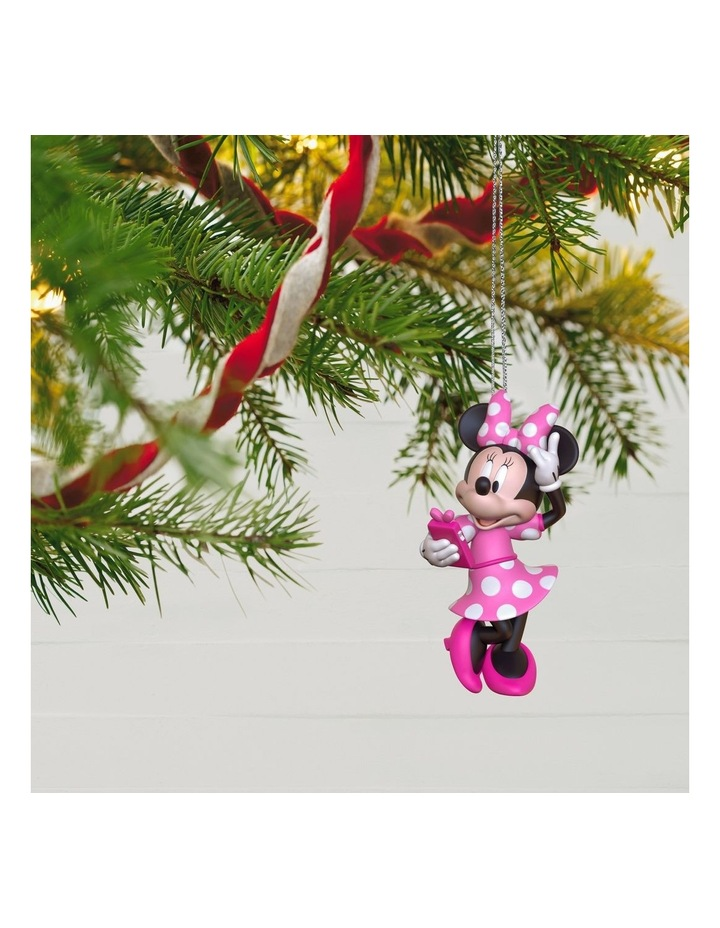 Phoning A Friend- Disney Minnie Mouse Ornament image 4