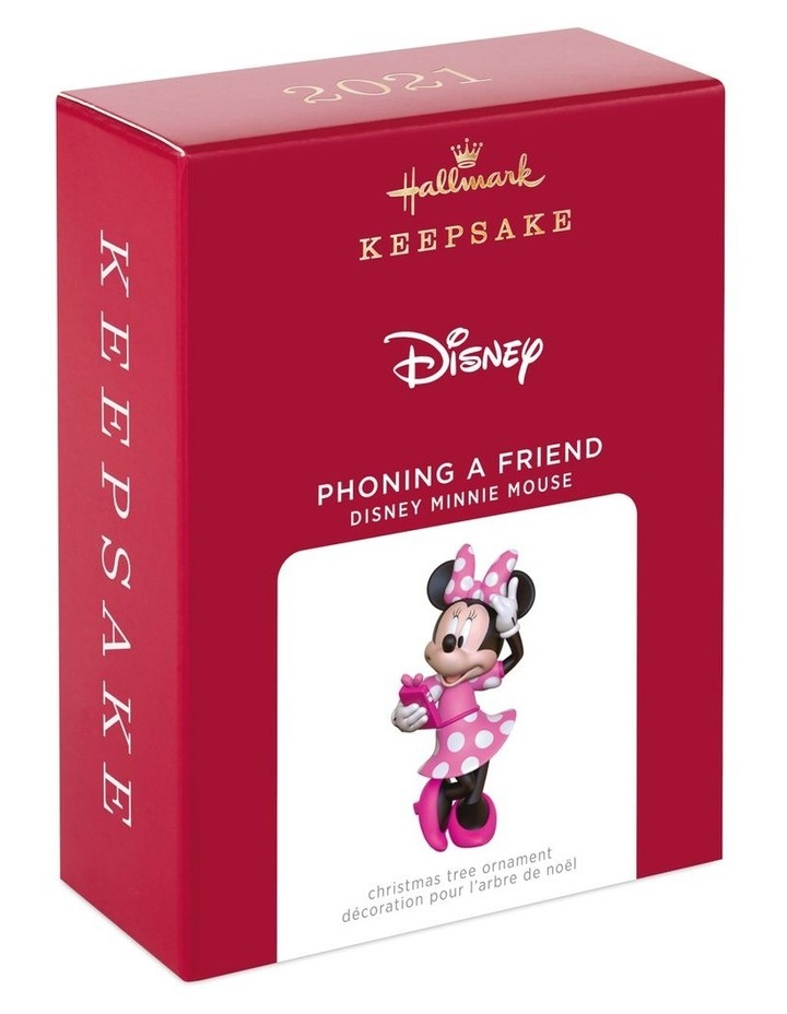 Phoning A Friend- Disney Minnie Mouse Ornament image 5