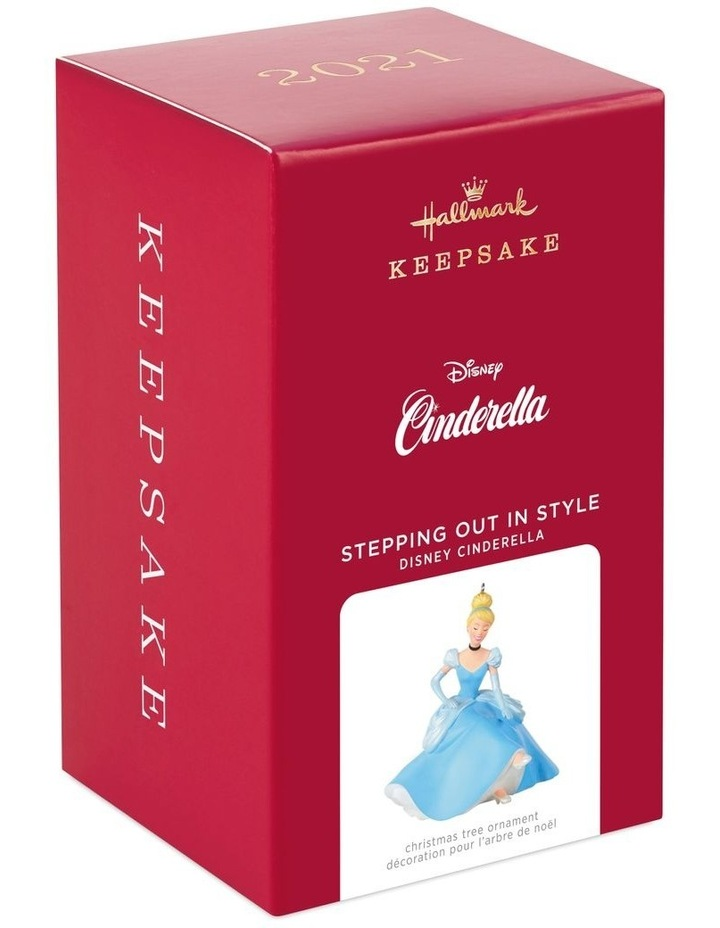 Stepping Out In Style- Disney Cinderella Ornament image 5