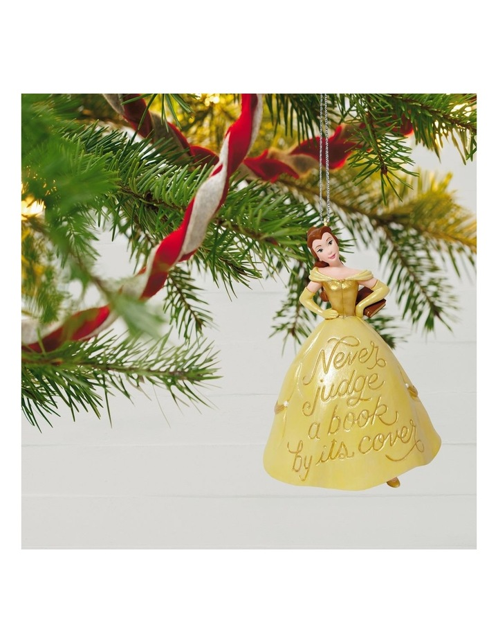 Book Lover Belle- Disney Beauty &  The Beast Ornament image 4