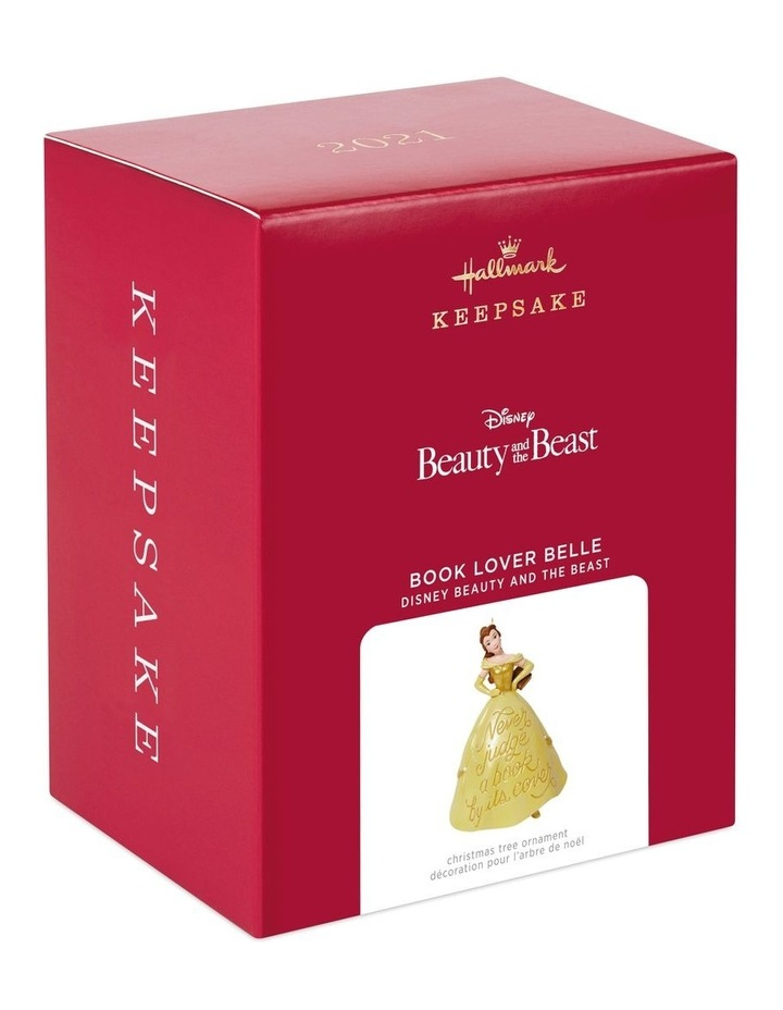 Book Lover Belle- Disney Beauty &  The Beast Ornament image 5