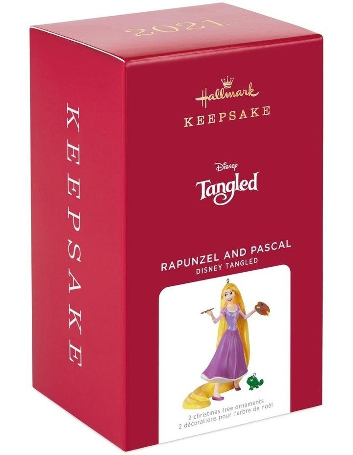 Rapunzel & Pascal- Disney Tangled Ornament image 5