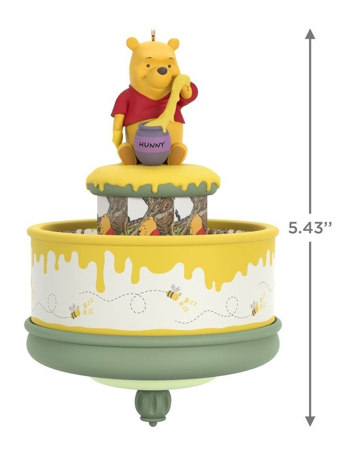 Disney Winnie The Pooh & The Honey Tree- 55Th Anniversary Ornament image 3