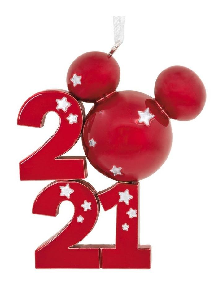 Premium Metal Mickey Icon 2021 Ornament image 1