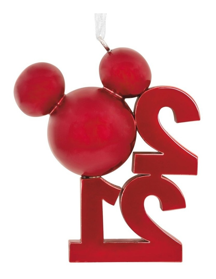 Premium Metal Mickey Icon 2021 Ornament image 2