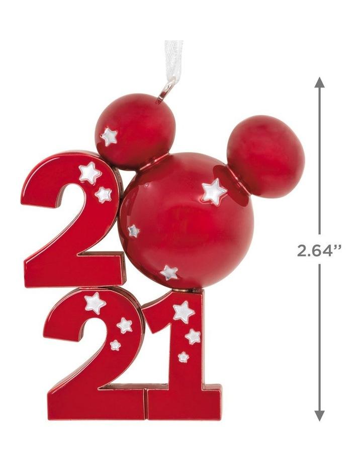 Premium Metal Mickey Icon 2021 Ornament image 3
