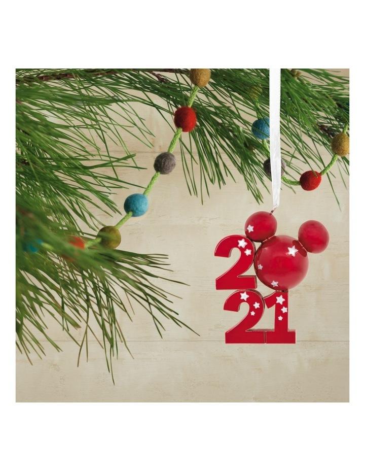 Premium Metal Mickey Icon 2021 Ornament image 4