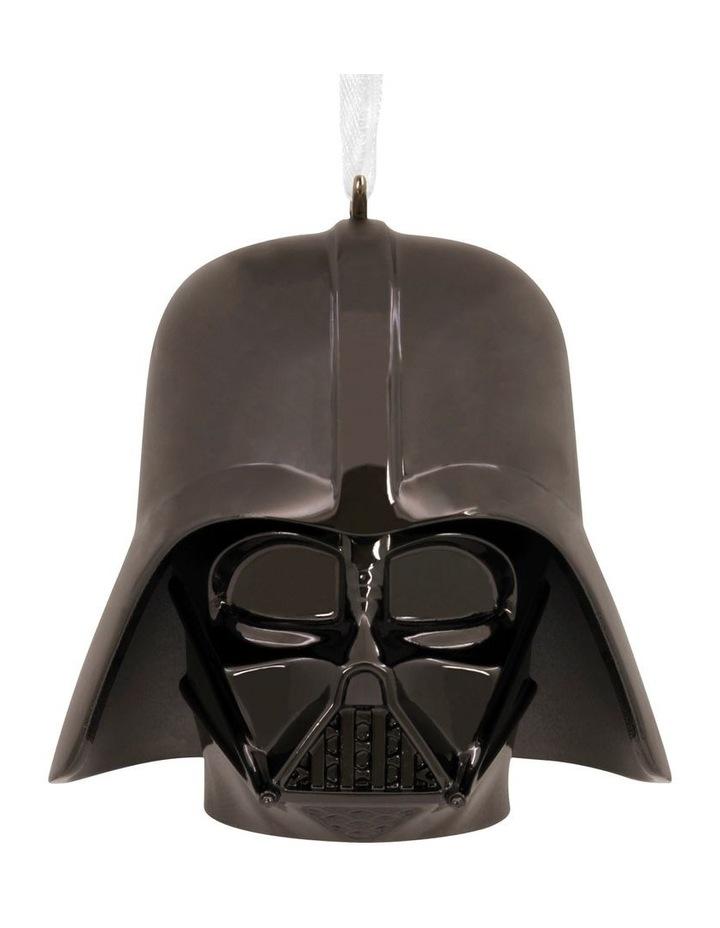 Premium Metal Darth Vader Helmet  Ornament image 1