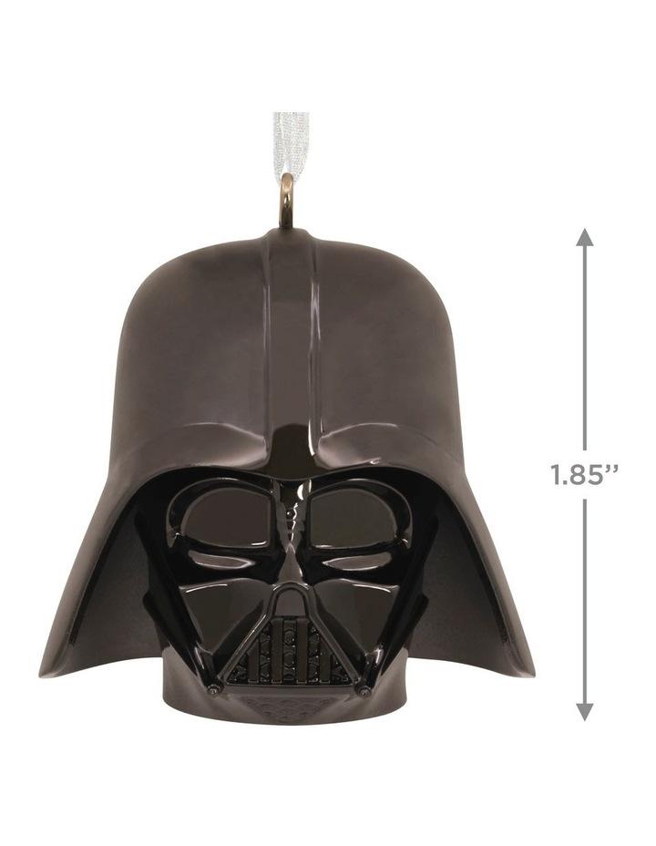 Premium Metal Darth Vader Helmet  Ornament image 3