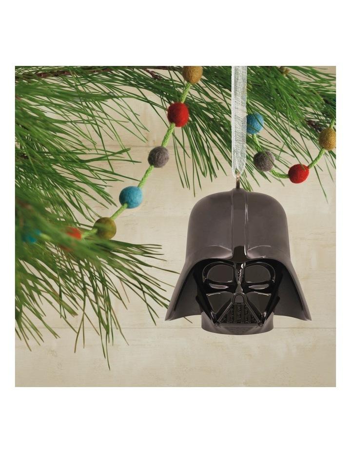 Premium Metal Darth Vader Helmet  Ornament image 4