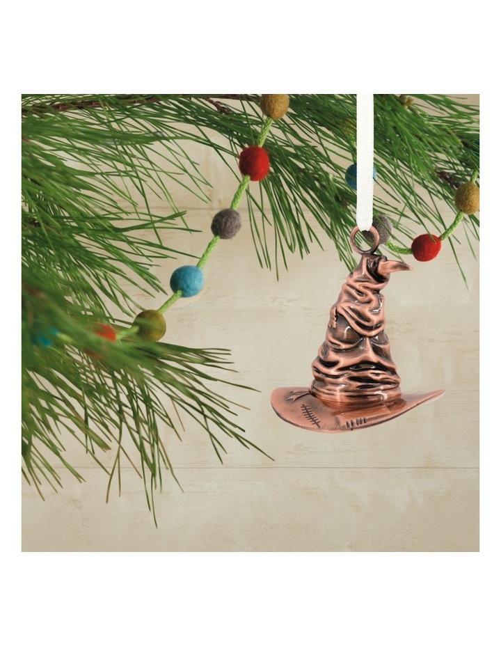 Premium Metal Harry Potter Sorting Hat Ornament image 4
