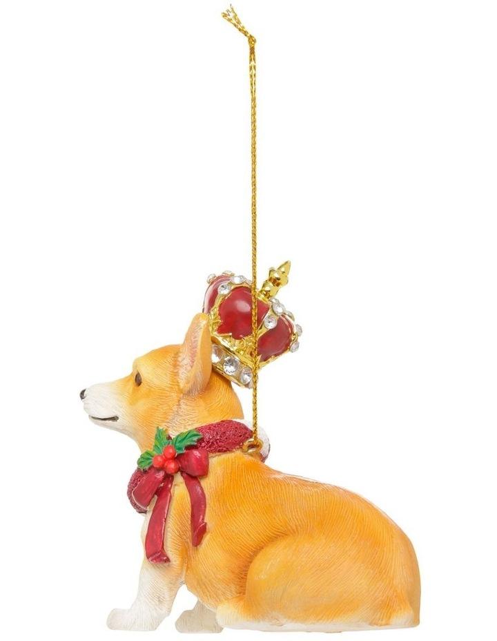 Heirloom Hand-Painted Corgi Hanging Ornament image 2