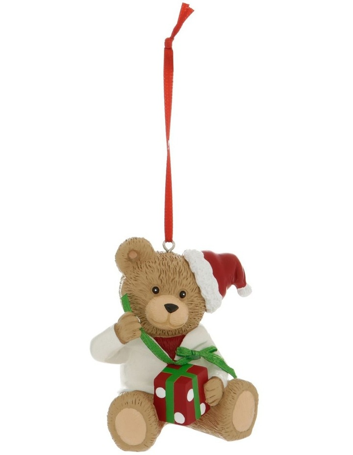 Heirloom Boxed Gilbert 2020 Teddy Hanging Ornament image 1