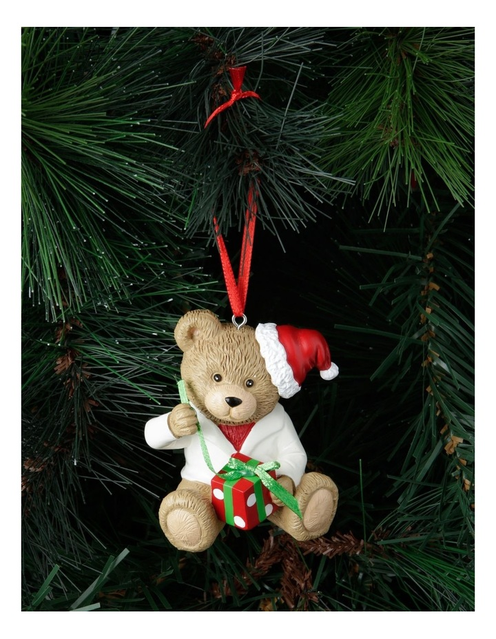 Heirloom Boxed Gilbert 2020 Teddy Hanging Ornament image 2