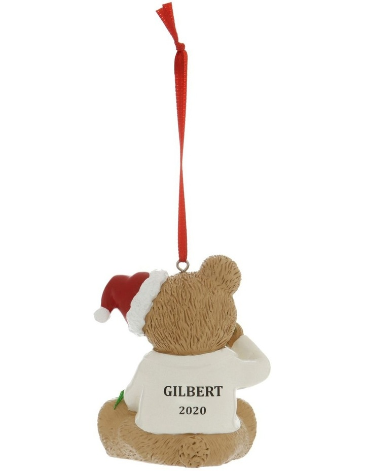 Heirloom Boxed Gilbert 2020 Teddy Hanging Ornament image 3