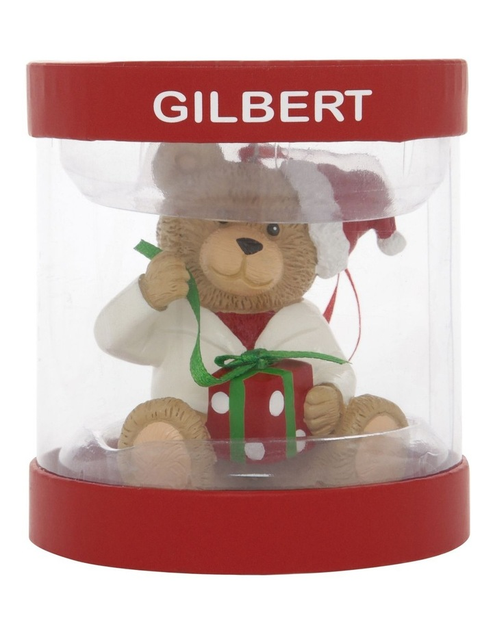 Heirloom Boxed Gilbert 2020 Teddy Hanging Ornament image 4